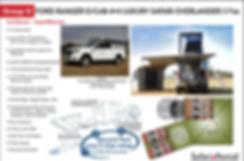 Self Drive 4x4 rental safari car for hire Namibia Botswana
