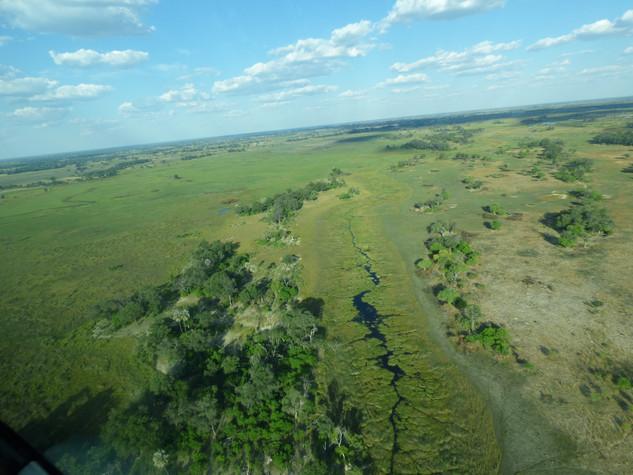 2019 28 Apr -Botswana-Maun-Okavango Delta Flight- Kalahari Basin (35)