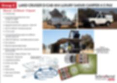 car hire 4x4 Land Cruiser camper self drive Botswana Namibia