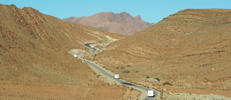 Zig Zag through remote mountains