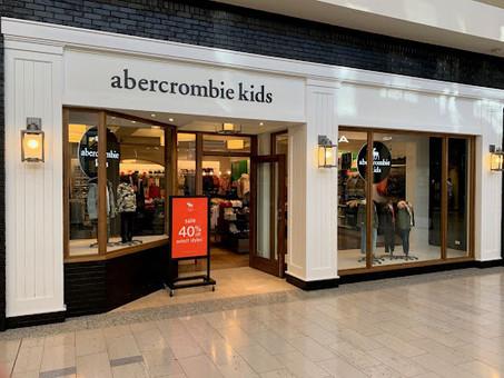 Abercrombie Kids Store Facade