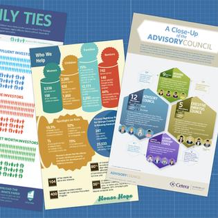 Reports + Infographics