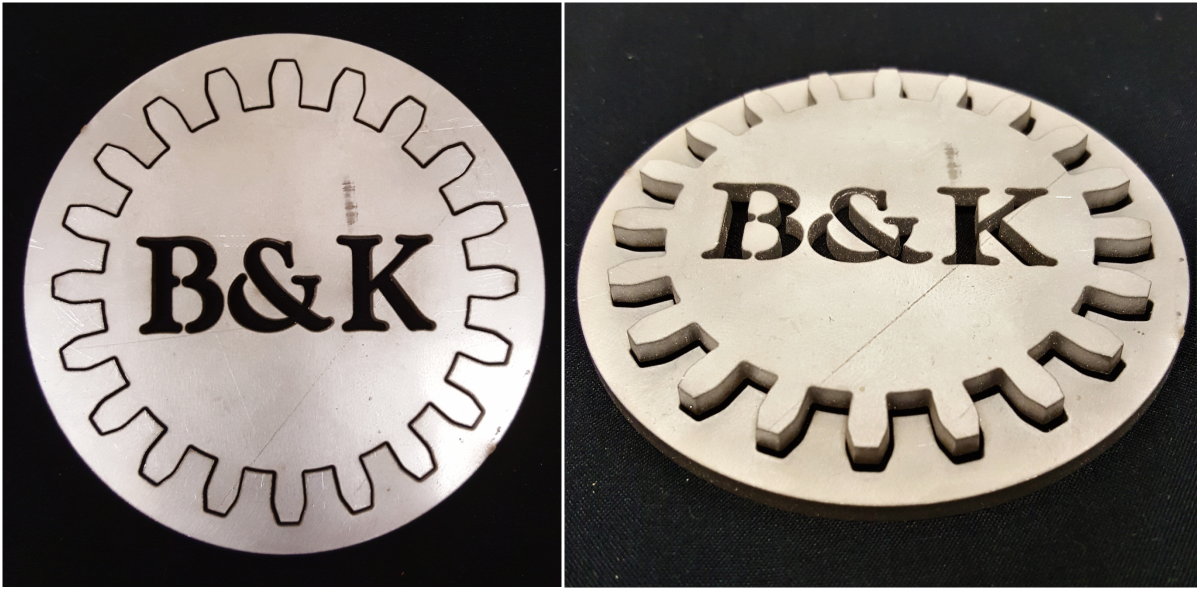 B&K Installations, inc. waterjet