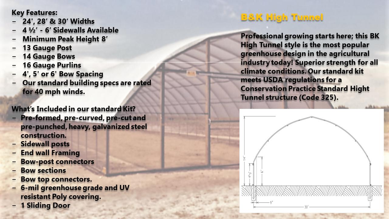 B&K High Tunnel