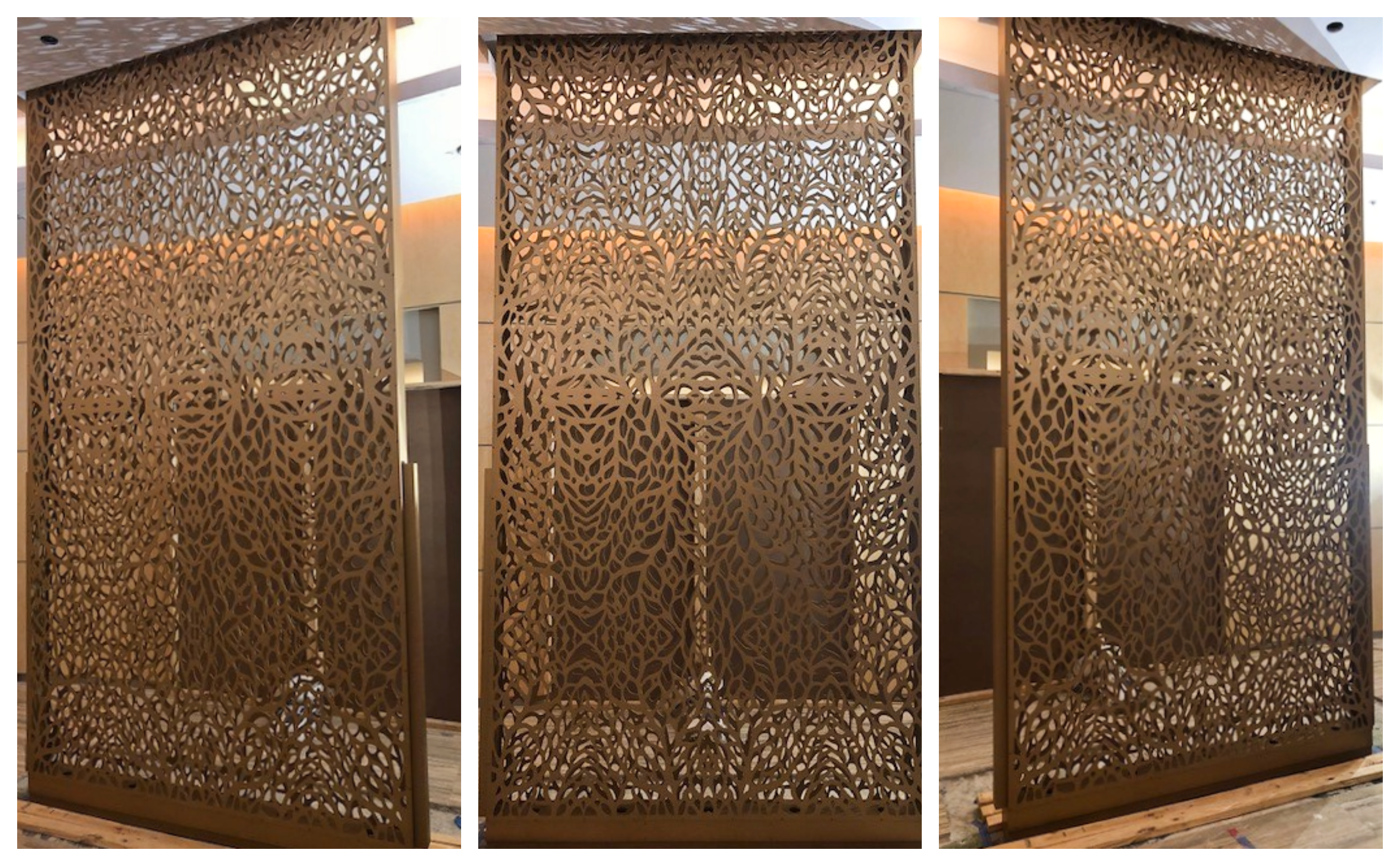 Decorative Divider for Lobby