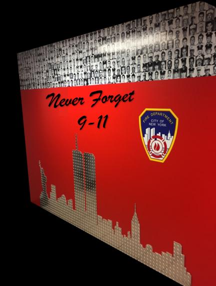 9-11 Tribute Display