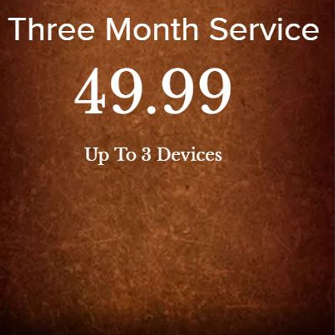 Three month service