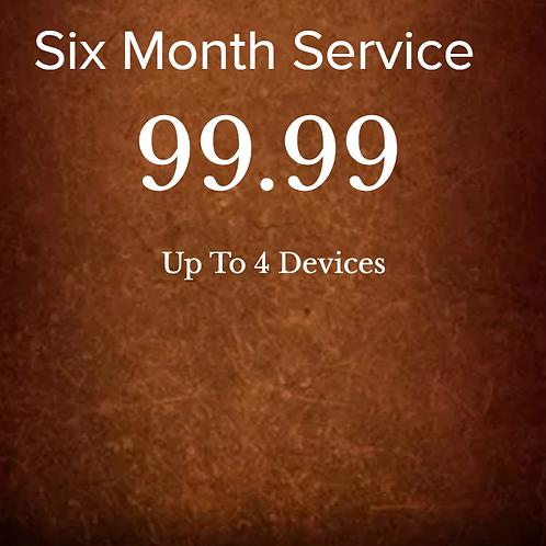 Six month service
