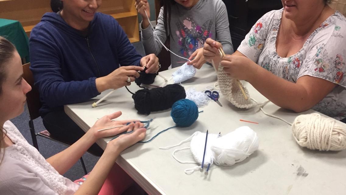 Knitting Class & Club