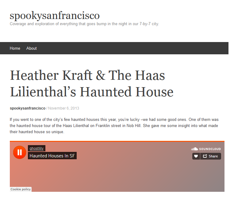 Interview with Heather Kraft