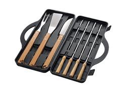 Set de BBQ con 10 Herramientas