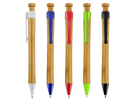 Boligrafos de bamboo