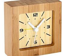 Reloj Despertador de Bamboo