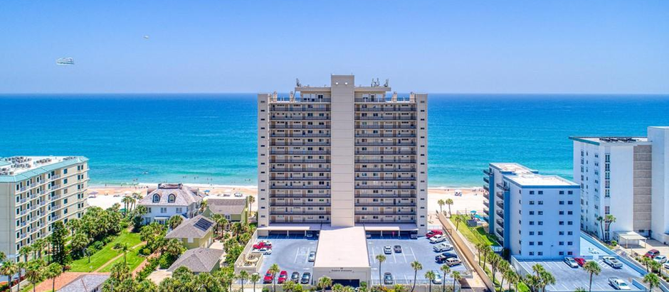 Hot Listing! Oceanfront 16th floor, 2Bed/2Bath Condo in the heart of Ormond Beach, FL! 89 Oceanfront