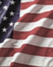Portion of an american flag