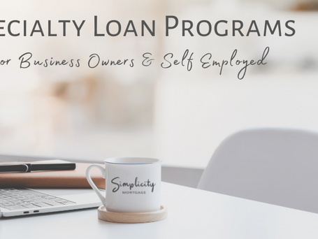 Specialty Loan Programs: Business Owners & 1099 Income. Port Orange-Ormond-Daytona & all of Florida!