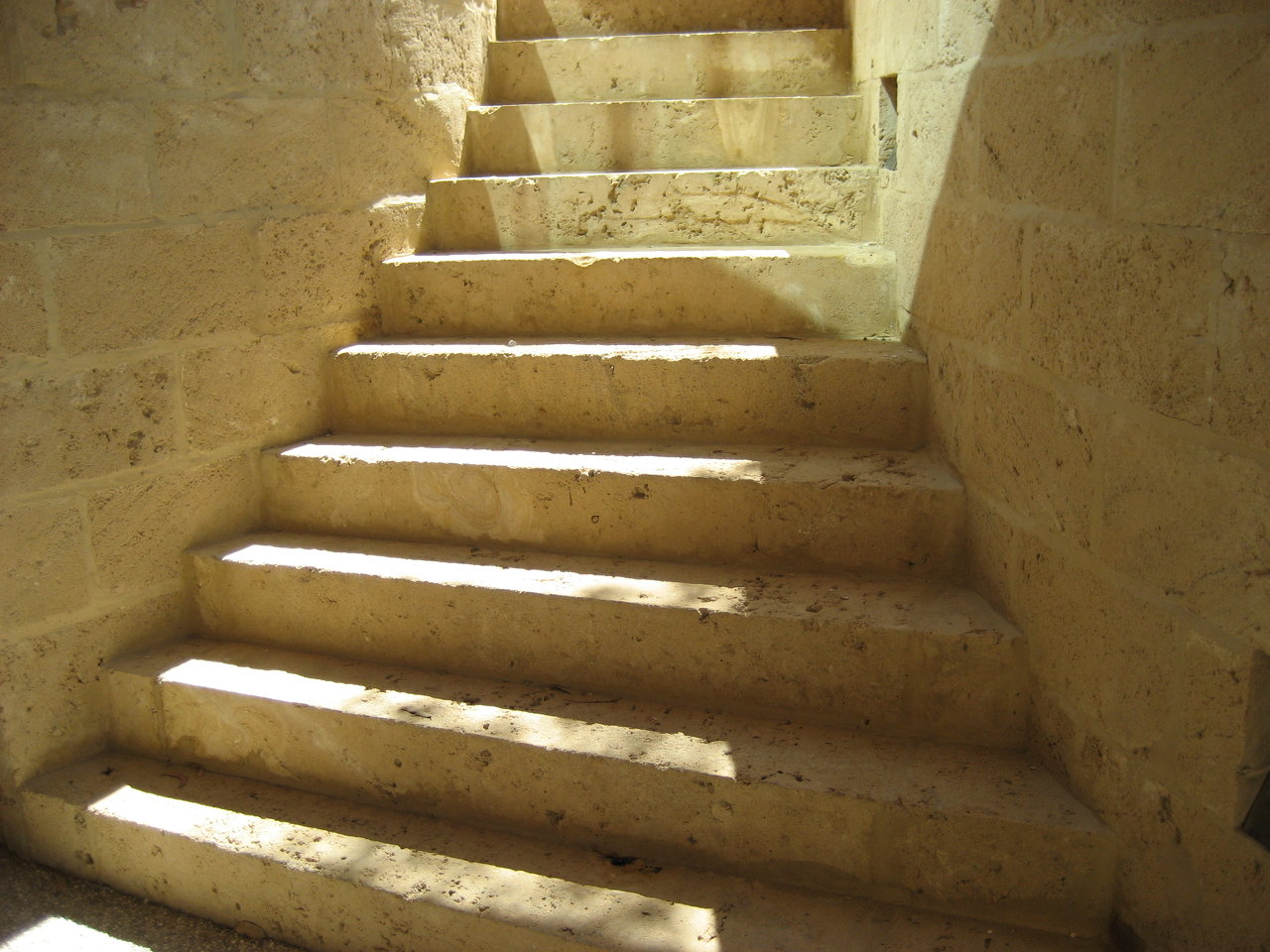 Limestone Steps