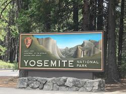 Eingang Yosemite National Park