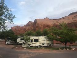 Campingplatz Monument Valley