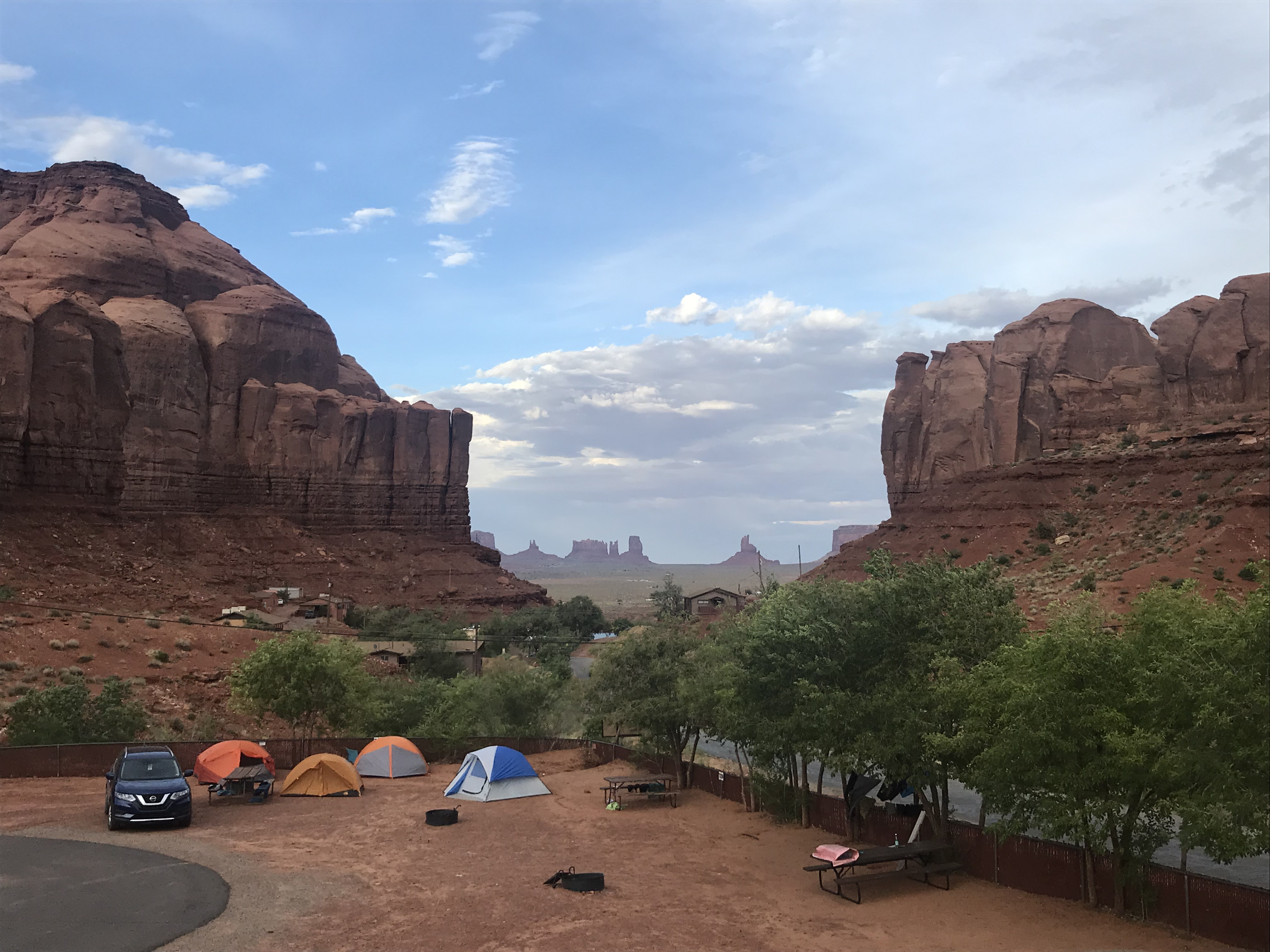 Campingplatz Monument Valley