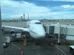 Ankunft am Flughafen in Denver