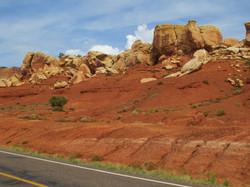 Auf dem Weg zum Monument Valley
