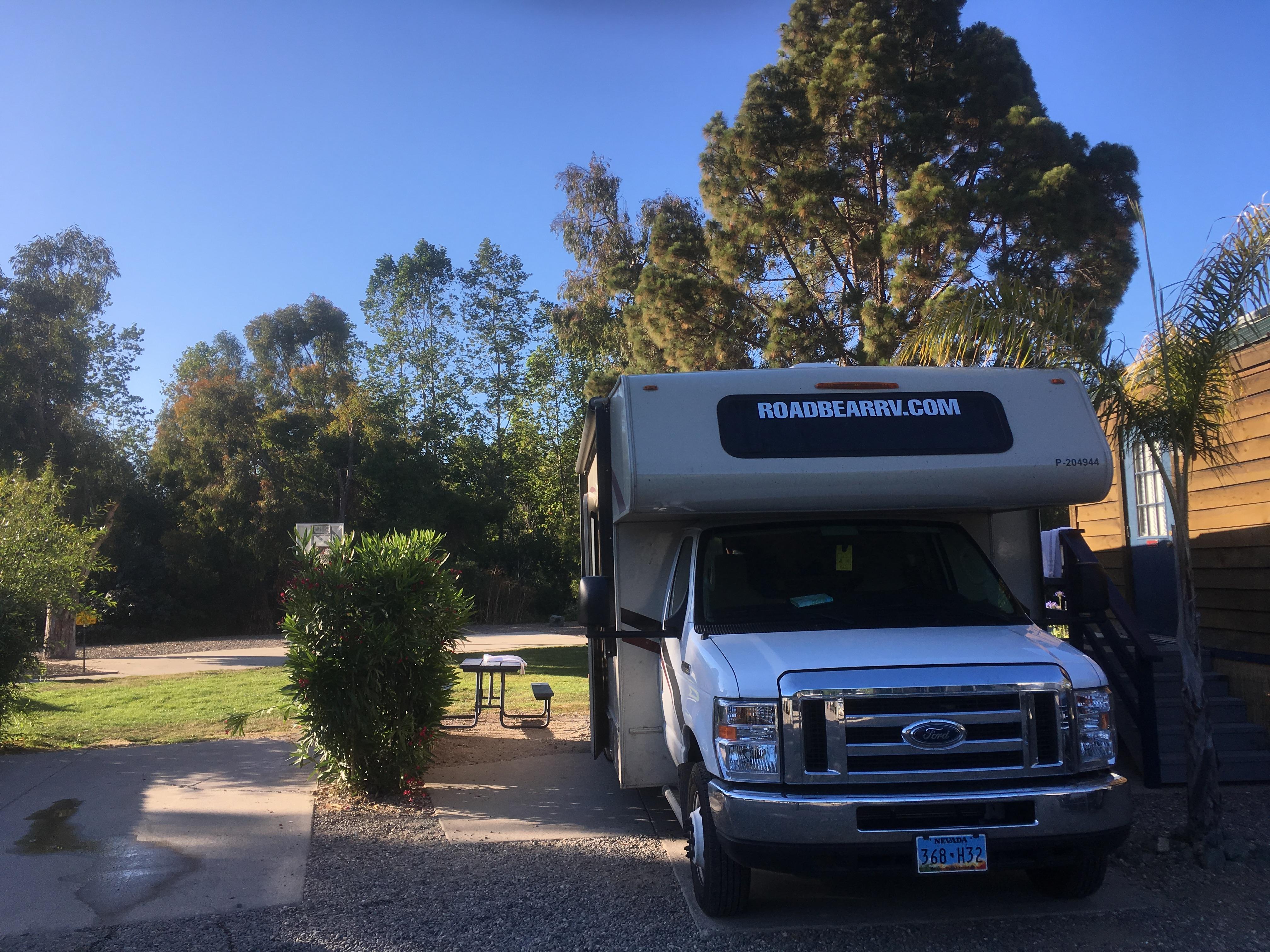 Campingplatz in San Luis Obispo