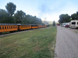 Dampfzug der Durango & Silverton