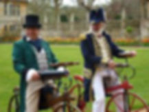 The Dandy Chargers will be coming to our vintage cycling event