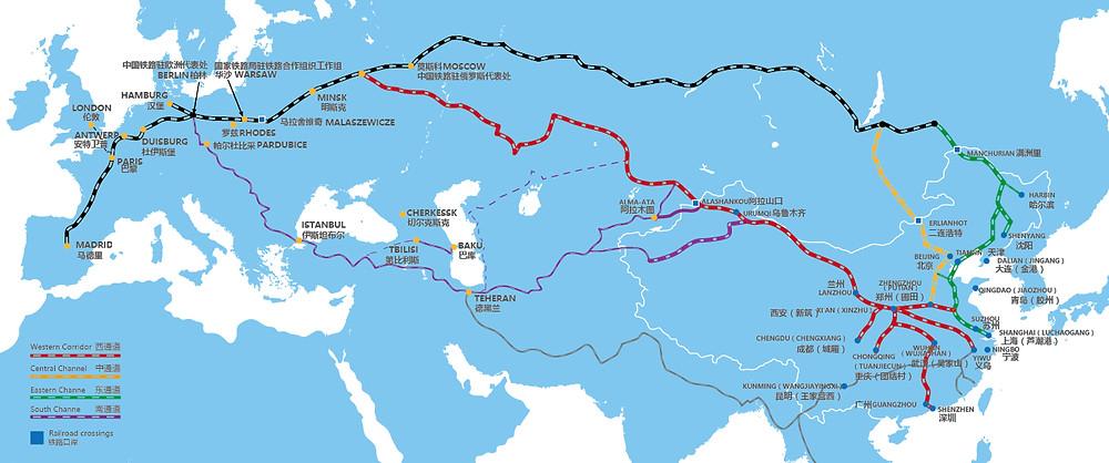 sino-euro train