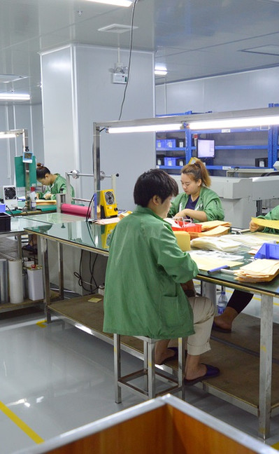 Membrane Switch Assembly Room