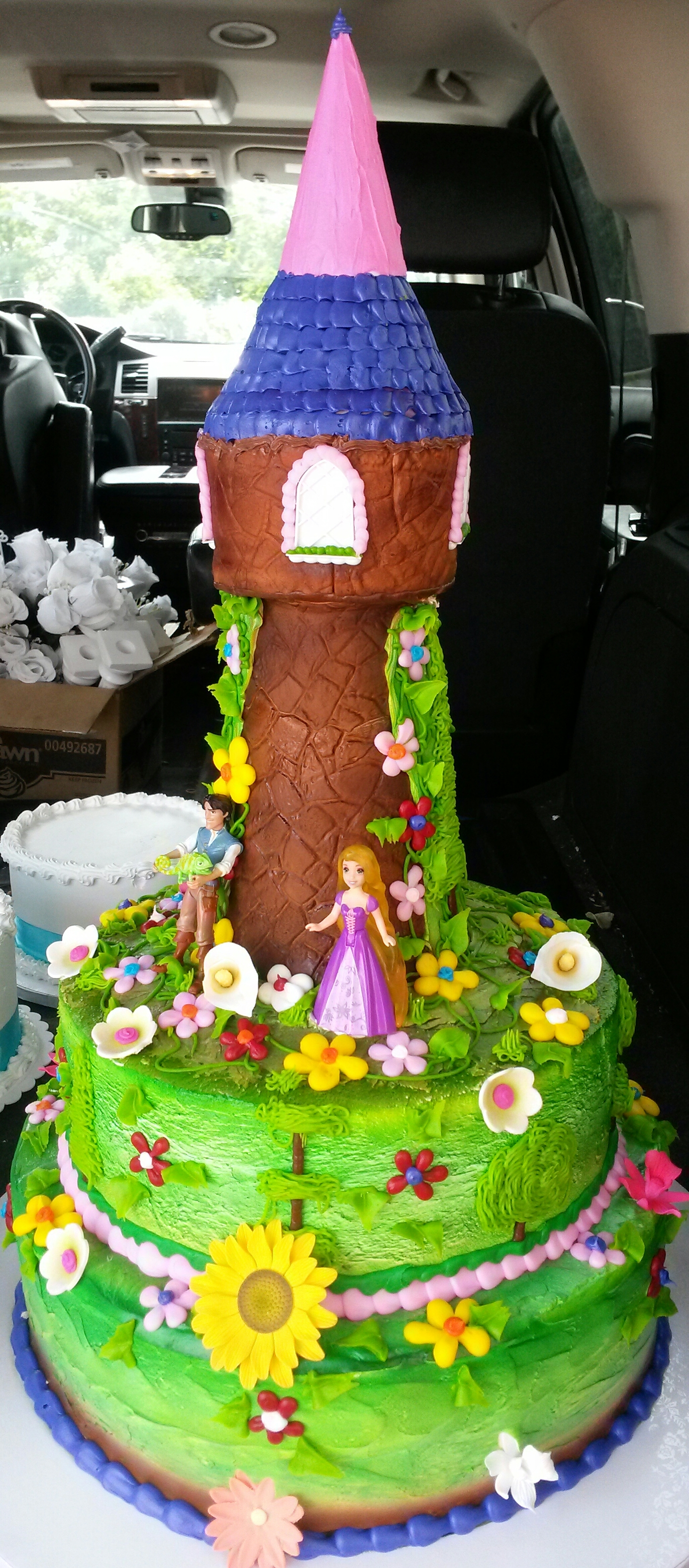 castle kids girl cake