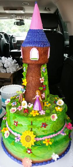 castle kids girl cake