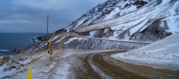 Carretera nevada de Islandia - Se necesita seguro adicional en Islandia