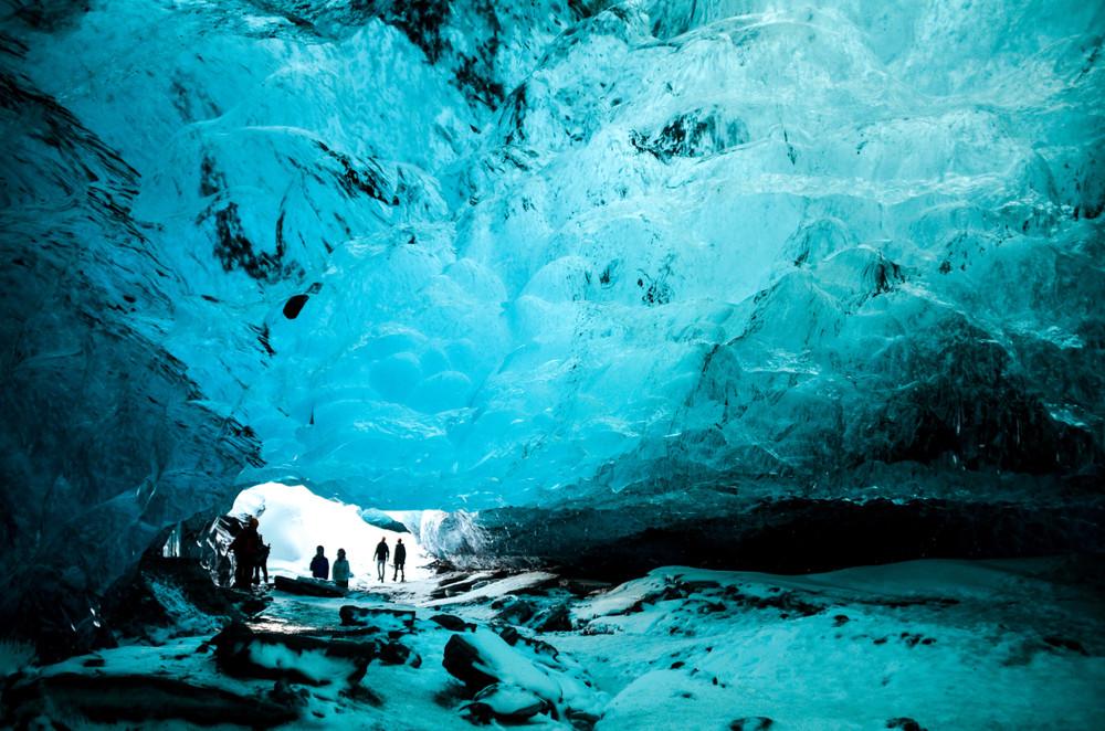 Interior cueva de hielo, Islandia - 10 cosas que hacer Islandia 2019