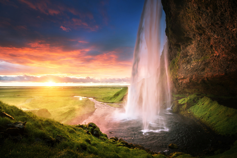 Cascada Seljalandsfoss - Consejos para conducir en Islandia
