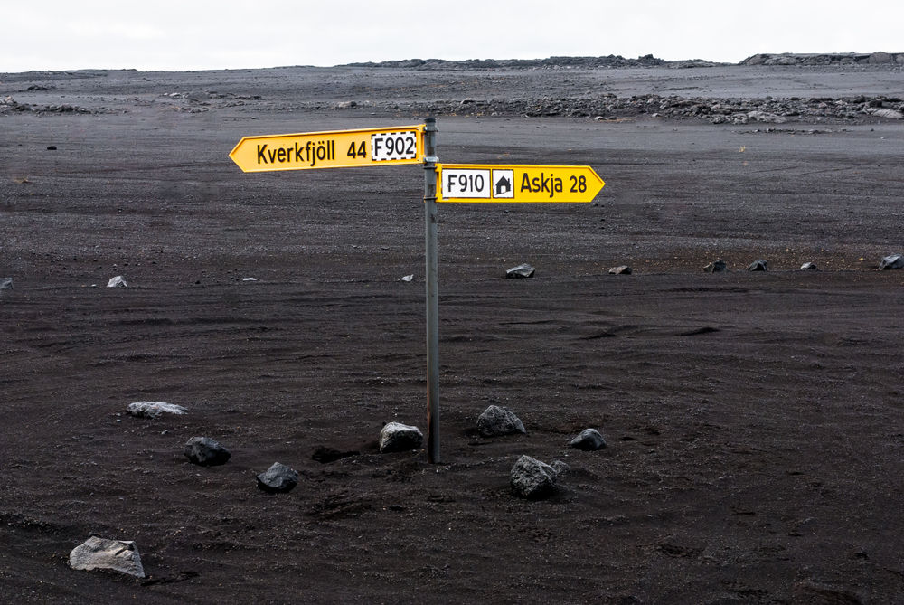 Informacion Esencial Sobre Las Carreteras F En Islandia