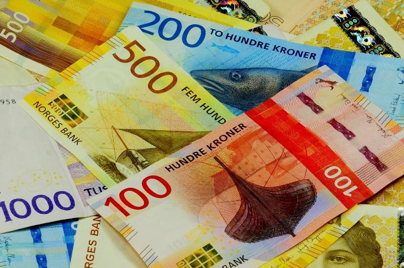 Norwegian bank notes - The NOK