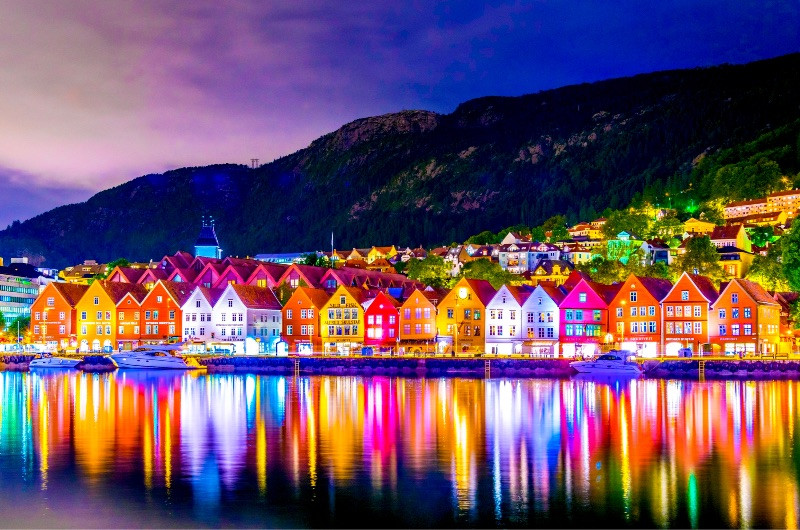 Spectacular view of the old Hanseatic Wharf - All about Bergen, Norway