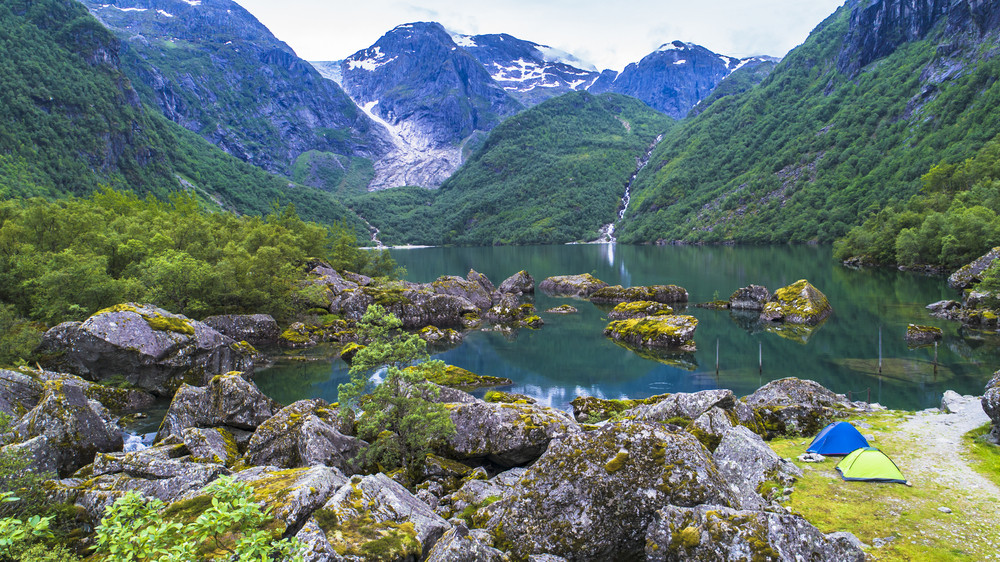Bondhus Lake in Folgefonna National Park, Norway - Top 5 National Parks in Norway you should not miss.