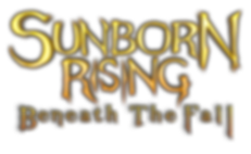 Sunborn Rising: Beneath the Fall logo