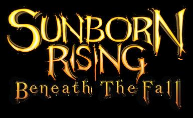 Sunborn Rising: Beneath the Fall logo