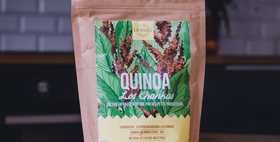 Quinoa Los Chankas Pérou 500g Équitable & Bio