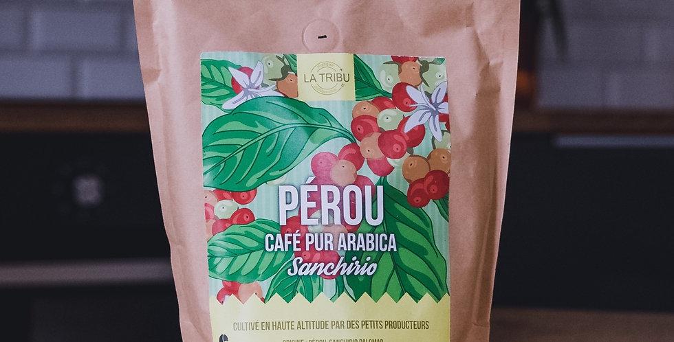 Café Sanchirio Pérou Moulu 500g Équitable & Bio