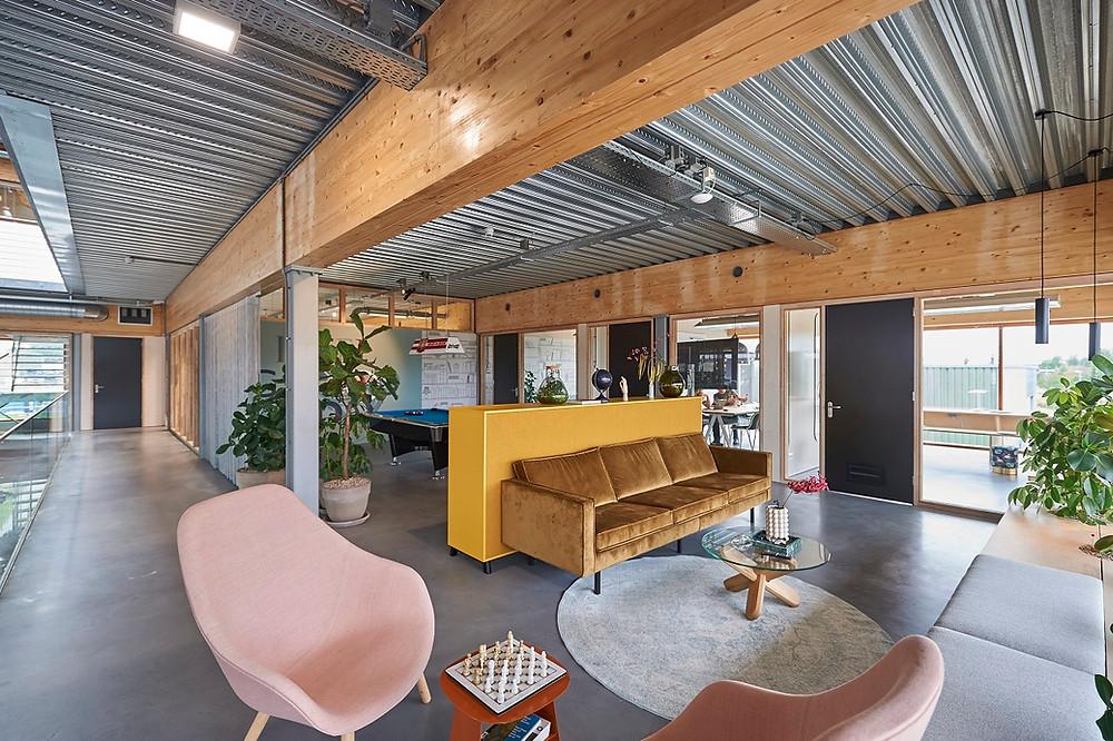 Relax area at Airios headquarters