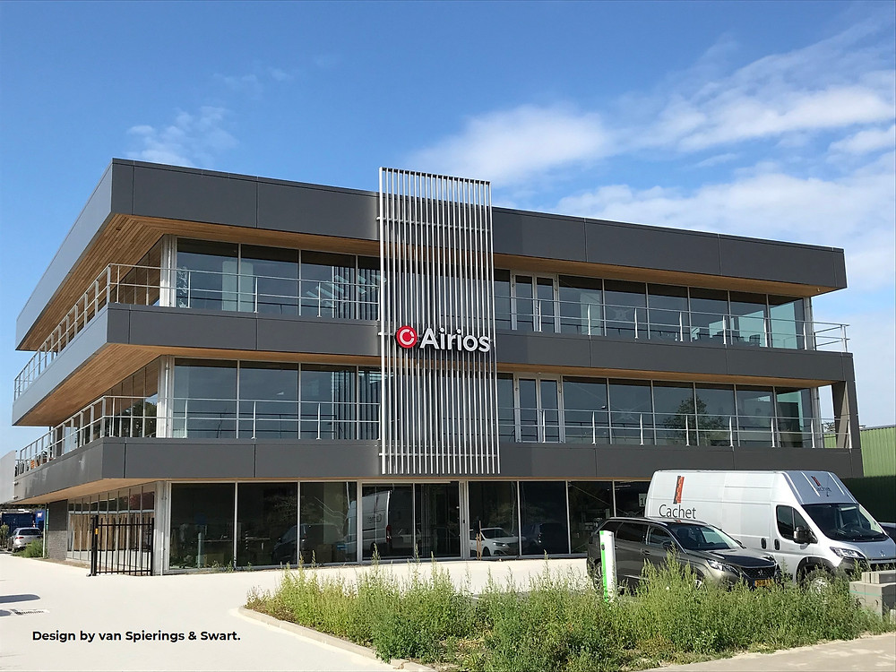 New office building of Airios Netherlands
