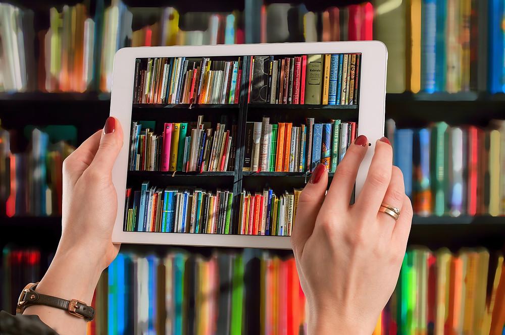 e-book ou livro impresso