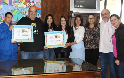 Prefeitura reconhece ações desenvolvidas pelas Escolas do Bem de Mairinque