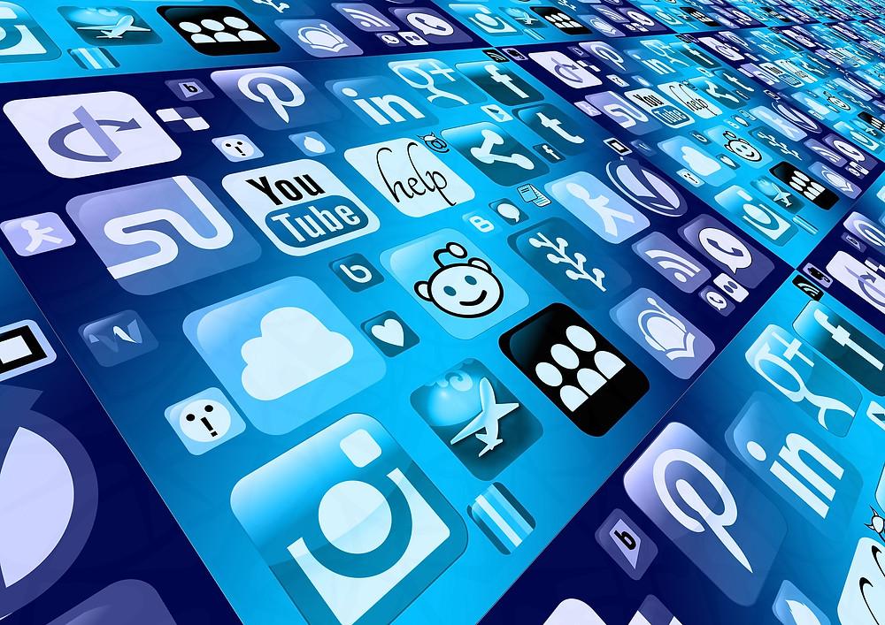 divulgar novo livro redes sociais