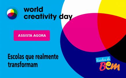 Ações das Escolas do Bem servem de inspiração no Dia Mundial da Criatividade